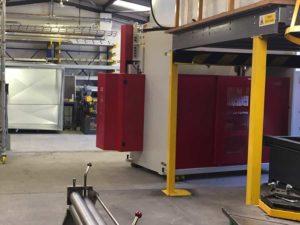 Alpha Sheetmetal, new machine arrives