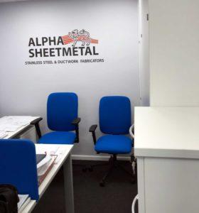 Alpha sheetmetal office
