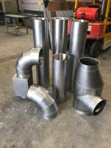 Alpha Sheet Metal - custom pipework