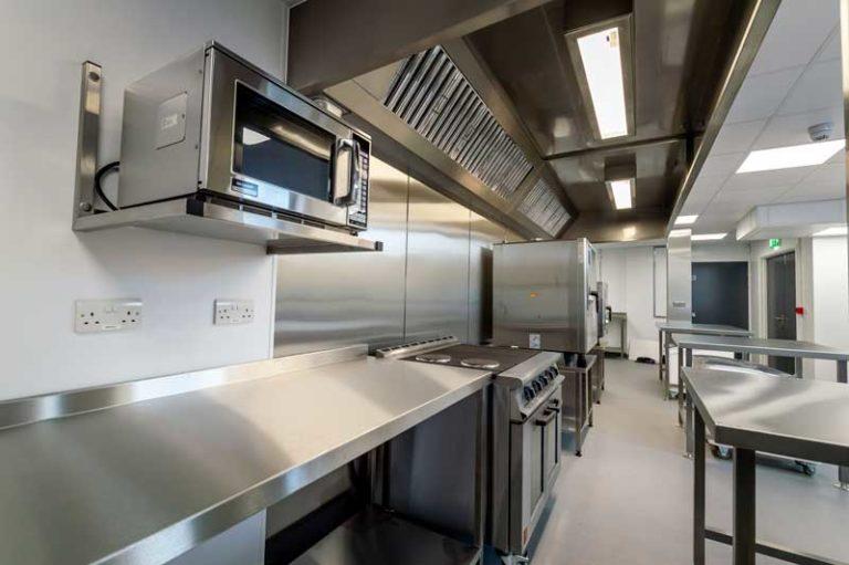 Alpha Sheetmetal - kitchen case study